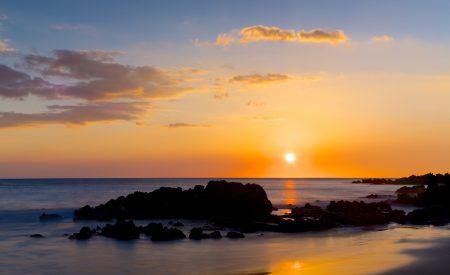 Les îles hawaïennes aux plus beaux couchers de soleil