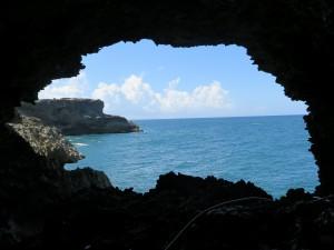 L'Animal Flower Cave est un endroit populaire de la côte nord de la Barbade. Soyez prudent!