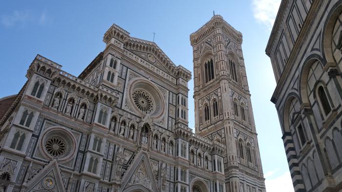 La façade d'Il Duomo