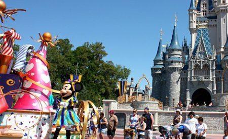 Un jour à Walt Disney World avec sa famille