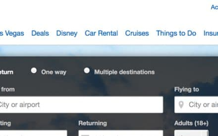 Expedia.ca's Homepage Makeover