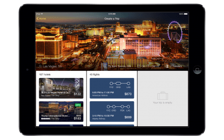 Newly Redesigned Expedia Tablet App