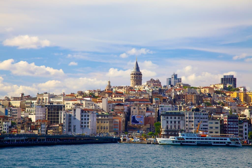 View of Istanbul with Galata Tower