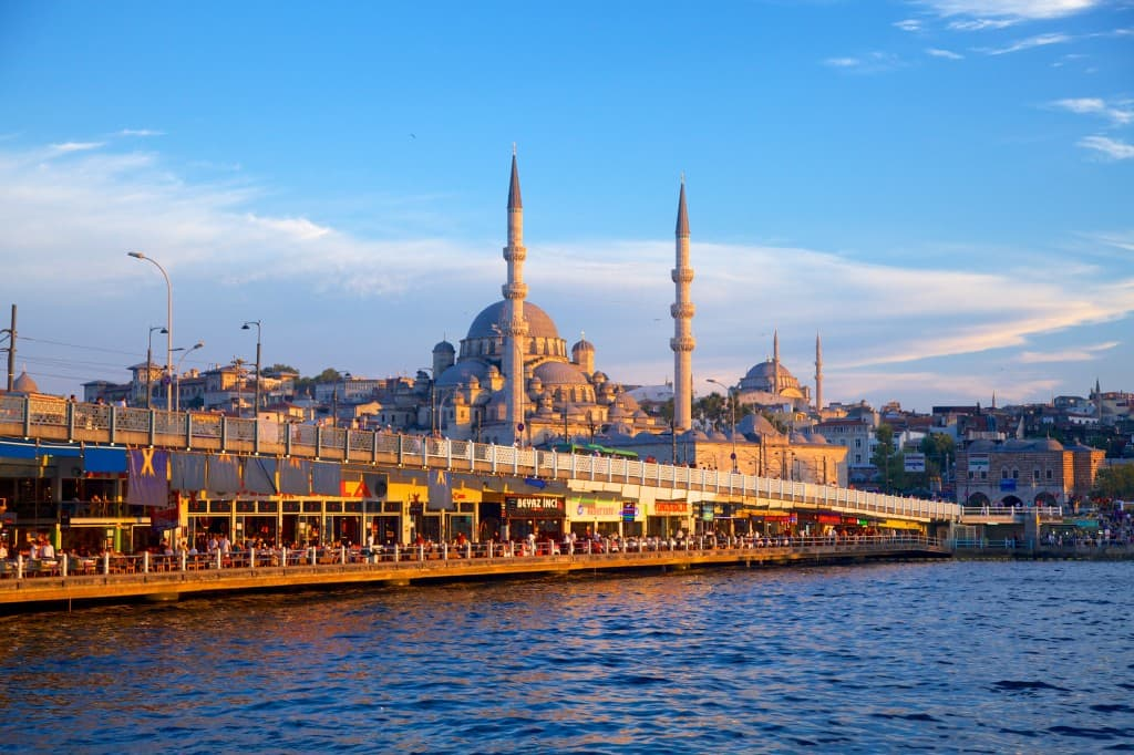 Scenic view of Istanbul