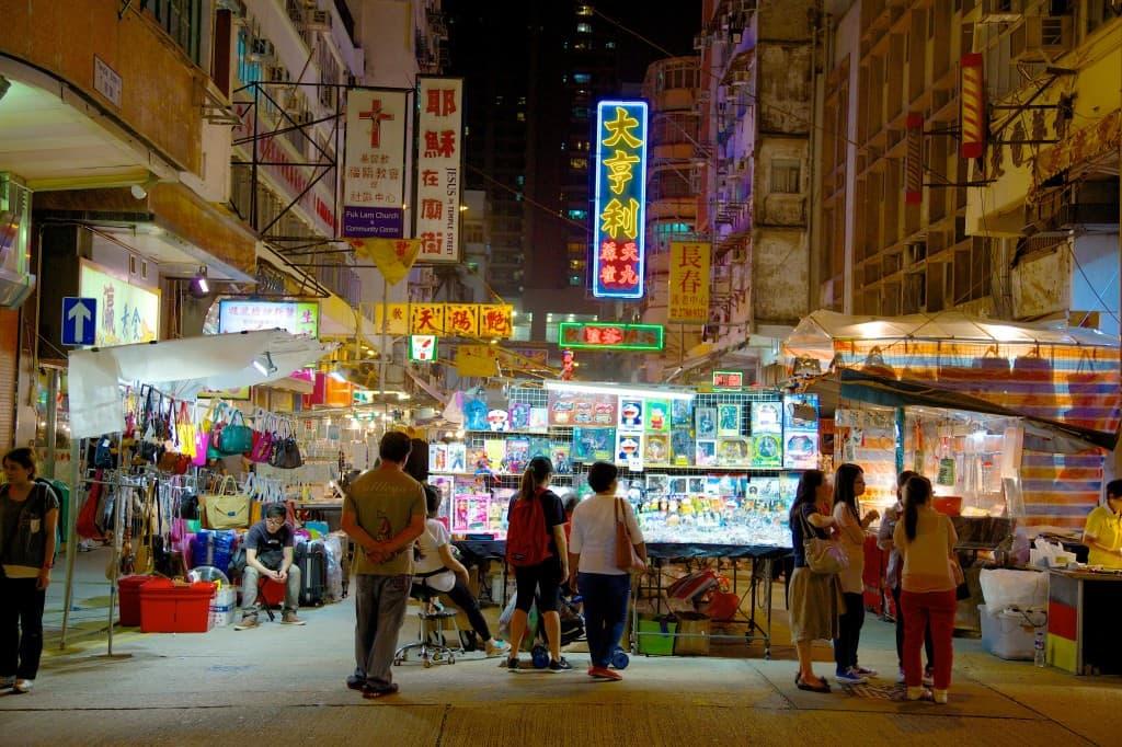 Hong Kong's night markets