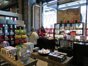 Great home decor and kitchen items can be found at the Victoria Public Market, as welll as terrific food.