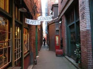 Fan Tan Alley is a great shopping area in surprisingly hip Victoria.