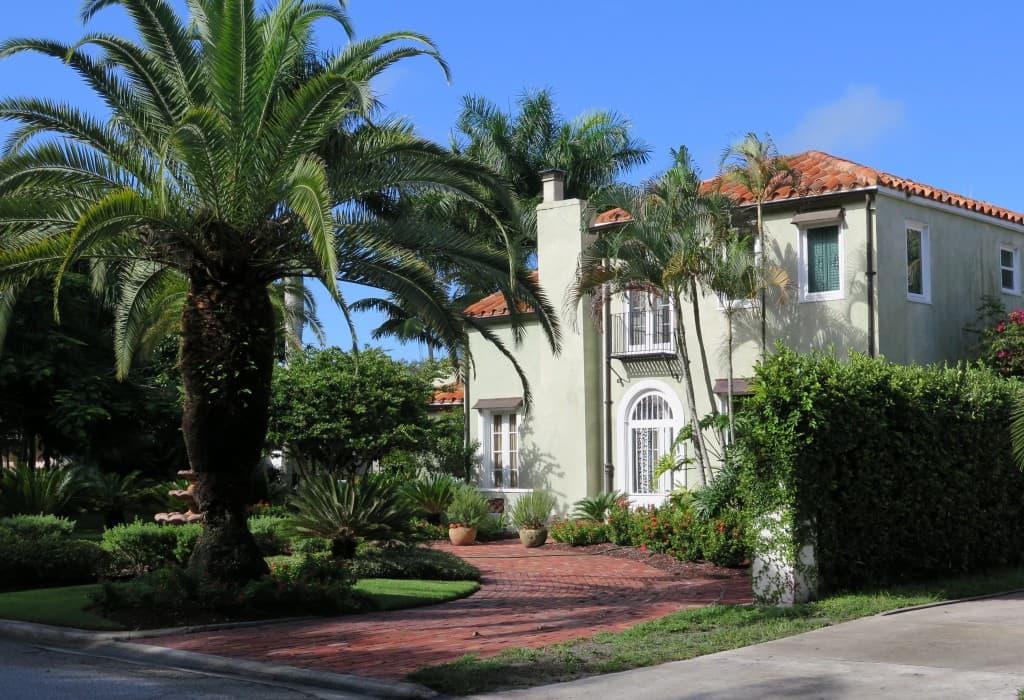 Venice boasts dozen of beautiful, Italian-style homes.