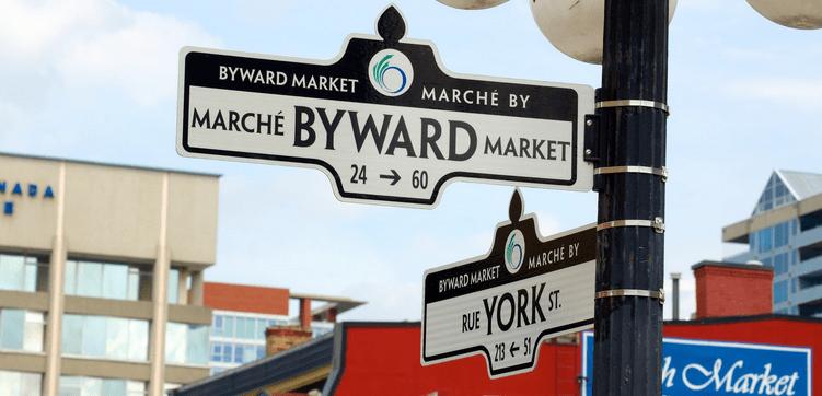 Byward Market in Ottawa
