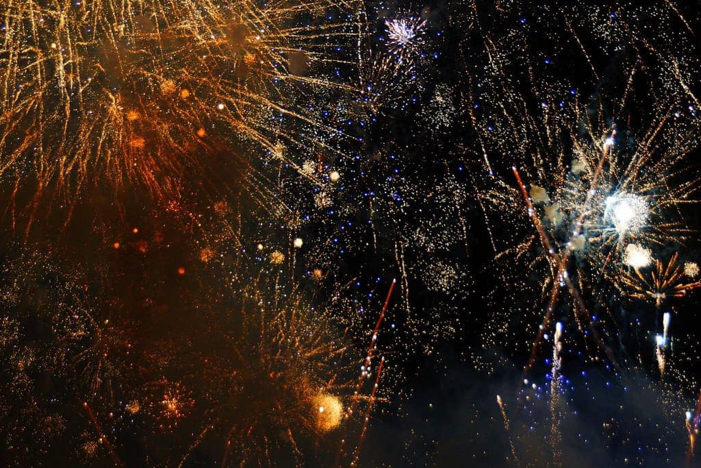 Watch Hogmanay Fireworks From Hotel Room