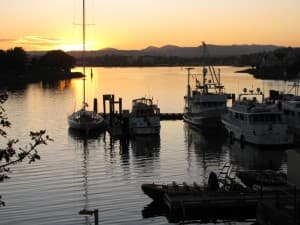 Take a boat tour of Victoria's fabulous harbour, or enjoy the view from a nearby restaurant or bar. Great sunsets, too!