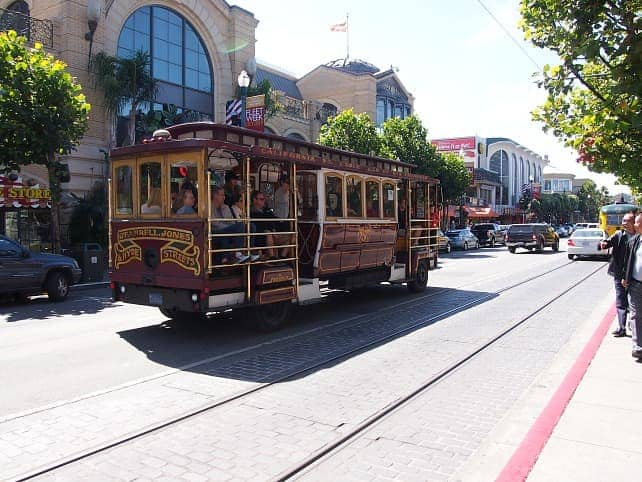 san francisco travel cable car