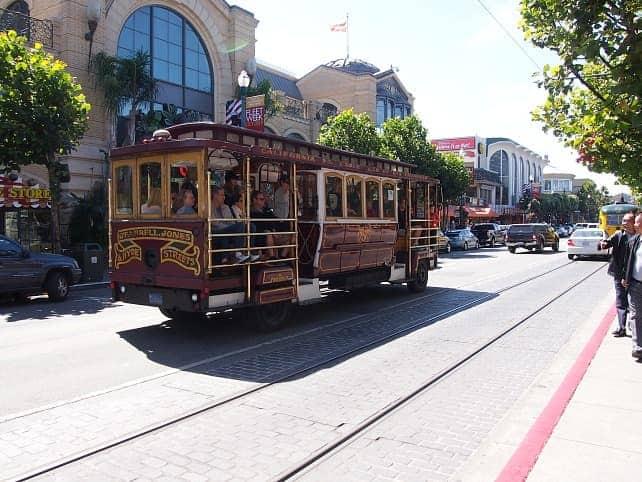 san francisco travel cable car