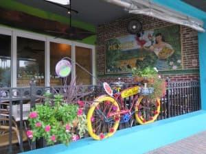 Casa Tina is a cool Mexican restaurant on Main Street in Dunedin.