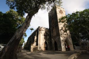 St. John's Parish Church is a lovely, quiet spot in Barbados with fine views.