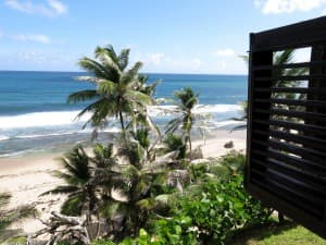 You'll find inspiring views at The Round House in the Bathsheba area of Barbados.