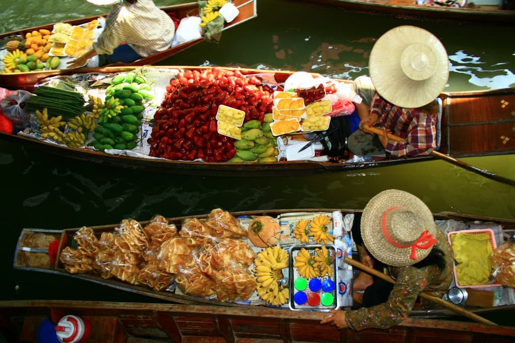 Week35_1_Thailand Bangkok Floating Market