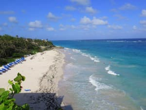 Crane Beach at Crane Resort is a fantastic swimming and bodysurfing spot in Barbados.
