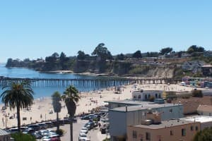 Capitola Beach is a gorgeous spot south of San Francisco.