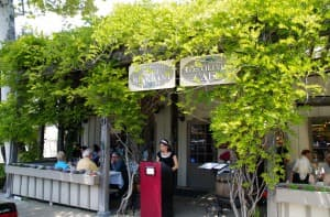 Los Olivos is a lovely town not far from Santa Barbara, with excellent wines and fun shoipping.