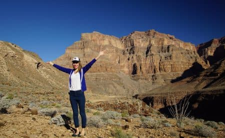 A Helicopter Tour Over the Grand Canyon