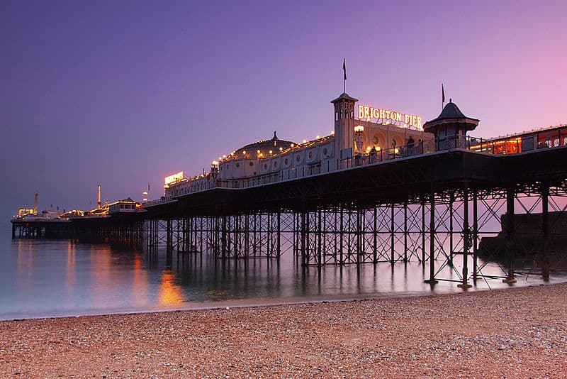 Photo attribution: By hozinja (Brighton Pier at dusk, UK Uploaded by BaldBoris) [CC BY 2.0 (http://creativecommons.org/licenses/by/2.0)], via Wikimedia Commons