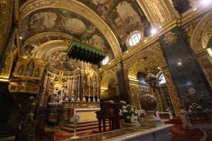 St. John's Co-Cathedral in Malta.