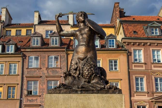 Warsaw, Poland Statue
