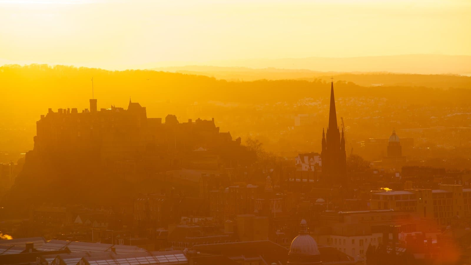 Sunrise from Arthur's Seat