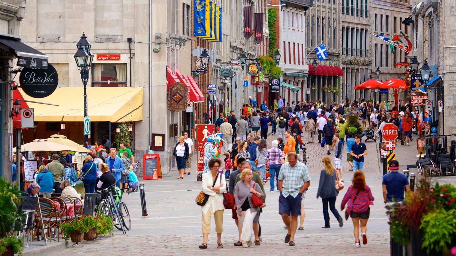 Walking Old Montreal
