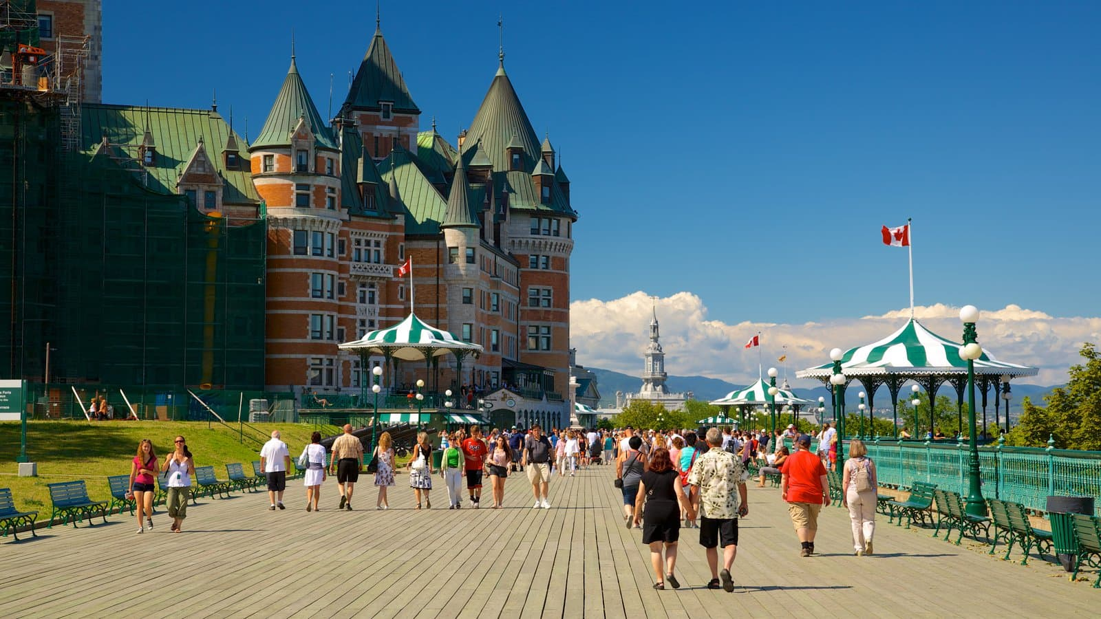 48 hours in quebec city for Terrace canada