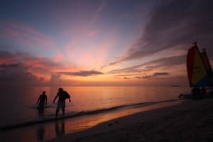 Beaches Negril is a great family resort in Jamaica. The sunsets are tough to beat, too.