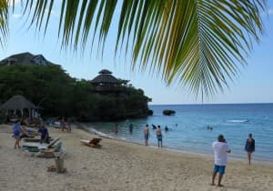 Club Ochi is a fun, lively beach spot at Sandals Ochi in Ocho Rios. Some units have a butler and a private swimming pool.