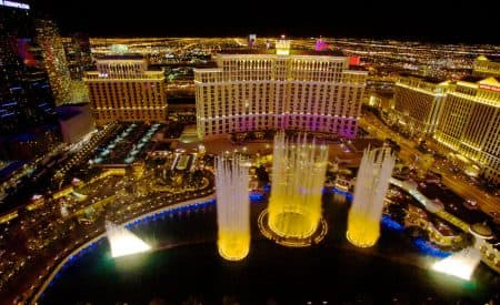 Vegas at Night: Where to Dine, Drink and Dance