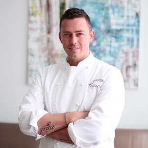 Chef Curtis Duffy Portrait