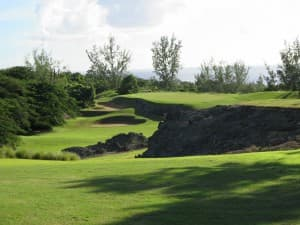 Royal Westmoreland is a gorgeous golf course on the west side of Barbados.