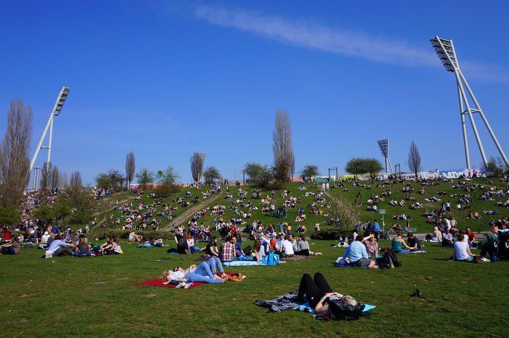Mauerpark in Berlin.