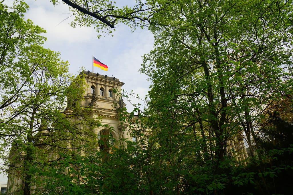 Reichstag in Berlin.