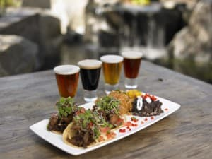 "You can try tasty beer ""flights"" and great food all over San Diego. PHOTO COURTESY SAN DIEGO TOURISM"