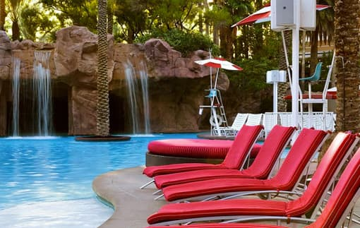 Flamingo Pool Las Vegas