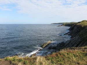 """Youll find marvellous views at all sorts of """"look-offs"""" on the coast of Cape Breton."""