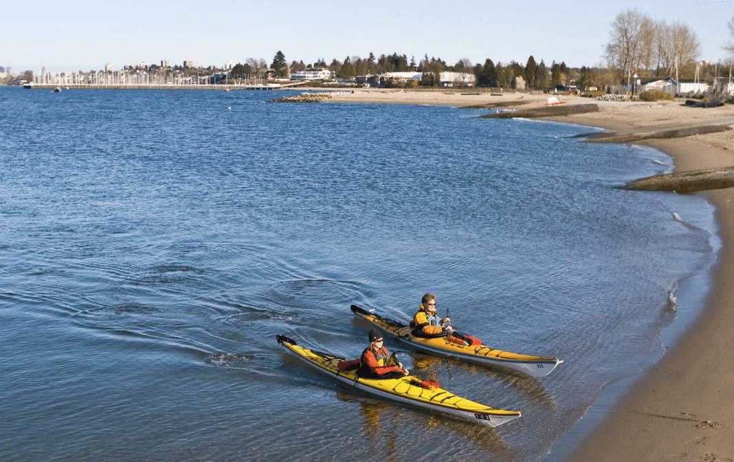 Kayaking Vancouver