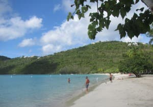Magens Bay is one of the top beaches in the U.S. Virgin Islands. JIM BYERS PHOTO
