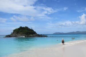 Trunk Bay on St. John is one of the prettiest beaches on the planet. JIM BYERS PHOTO