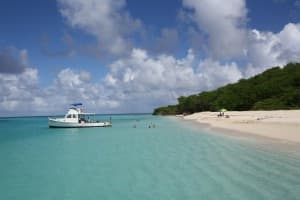 Take a short trip from St. Croix to Buck Island for fabulous beach walks and snorkelling. JIM BYERS PHOTO