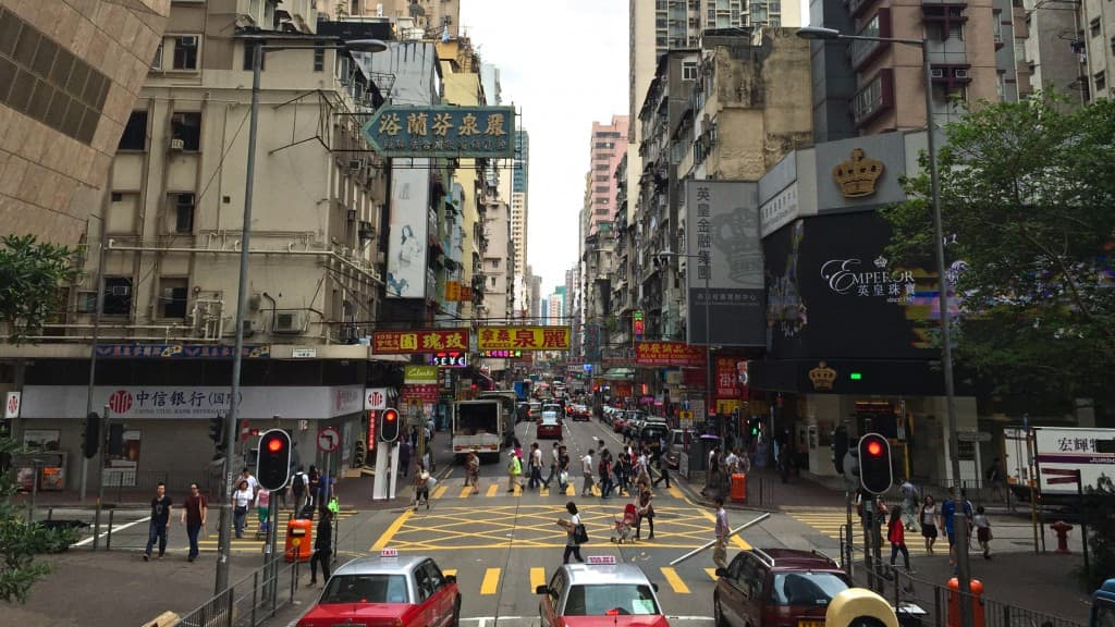 Nathan Road, Hong Kong.