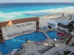 The Beach Palace is a wonderful family resort in Cancun. JIM BYERS PHOTO