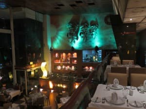 The design at La Habichuela Sunset in Cancun is as good as the food. And that's saying something. JIM BYERS PHOTO