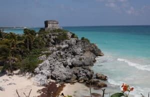 The Mayan ruins at Tulum are some of the most spectacular in Mexico. JIM BYERS PHOTO