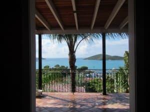 Haagensen House in Charlotte Amalie offers fine views. JIM BYERS PHOTO